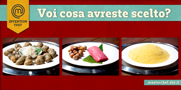 I tre ingredienti proposti per l'invention test