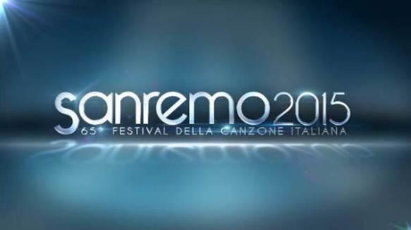 Il logo di Sanremo 2015