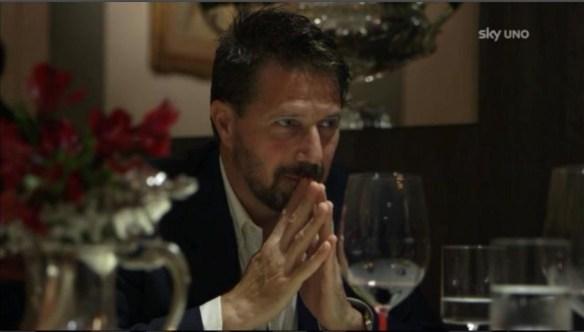 Stefano a cena con Cracco