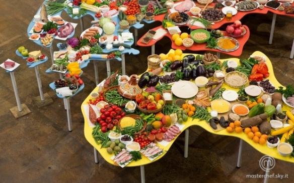 Il planisfero del cibo