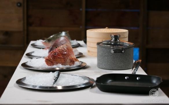 I quattro pesci e le quattro tecniche di cottura