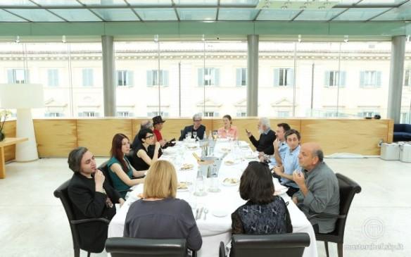 Il tavolo degli artisti