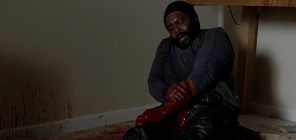 Tyreese è stato morso