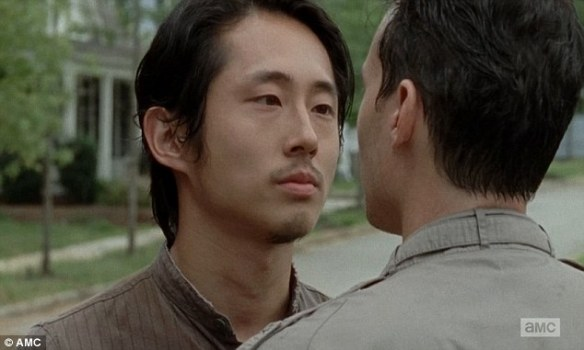 Lo scontro tra Glenn ed Aiden