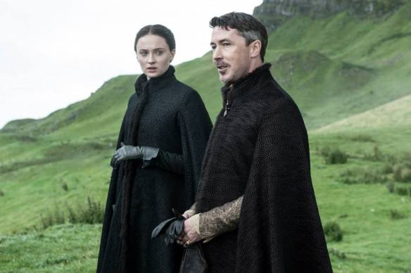 Lord Baelish e Sansa Stark