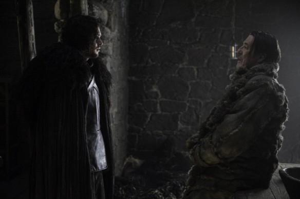 Jon Snow risolve il problema con la sua ars oratoria