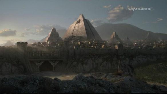 Una spettacolare vista di Meereen