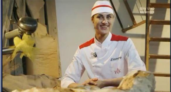 Eleonora fa il pane