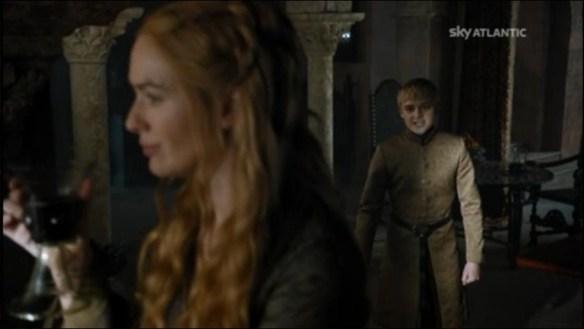 Tommen fa il duro con mamma Cersei