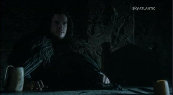 Jon Snow nel ruolo di Comandante