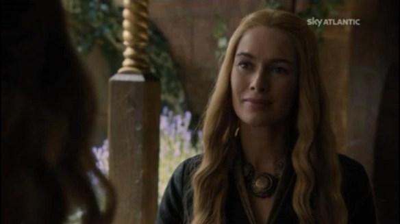 Cersei strapazzata da Margaery