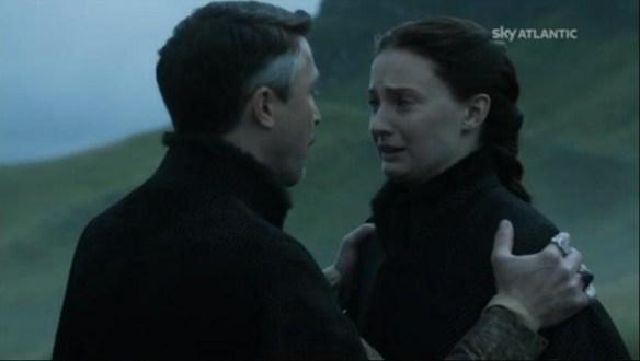 Sansa prende bene la proposta di Lord Baelish