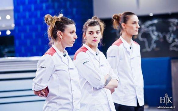 Chiara, Eleonora e Carlotta