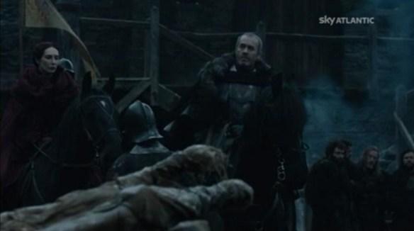 La partenza di Stannis