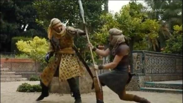 Jaime si batte contro le Serpi