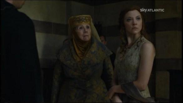 Lady Olenna  la Regina Margaery