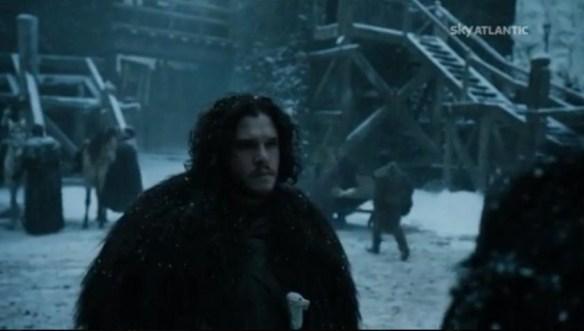 Jon parte con Tormund